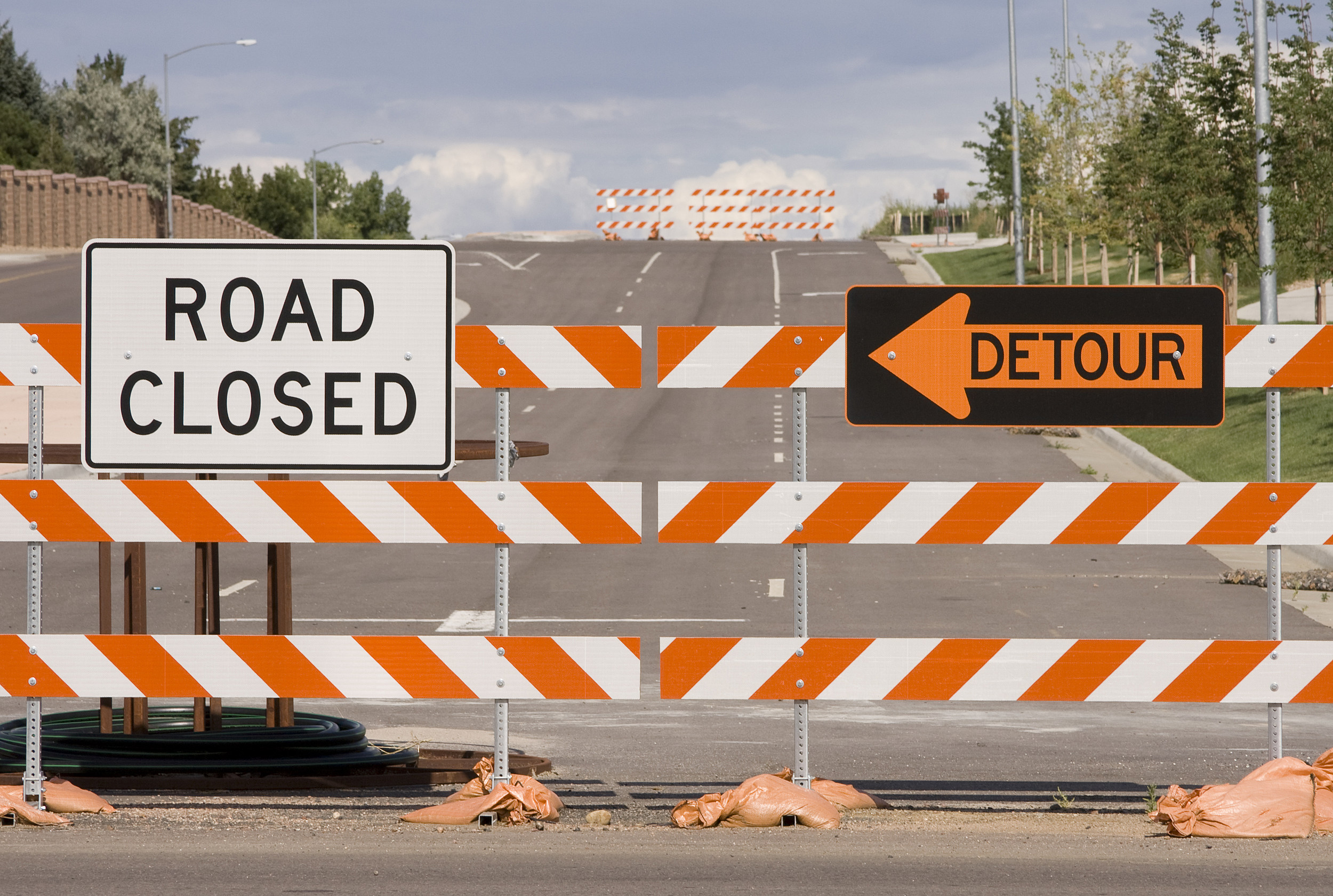 Roadblocks Or Detours Leslie Hooton Inc Detour